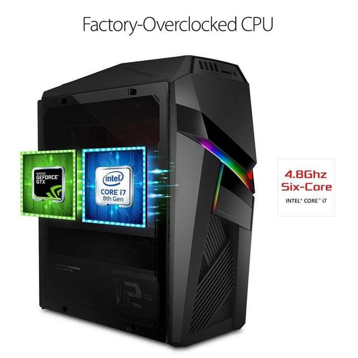 Cpu Asus Gaming I7 8700k 32ram 8gb Video