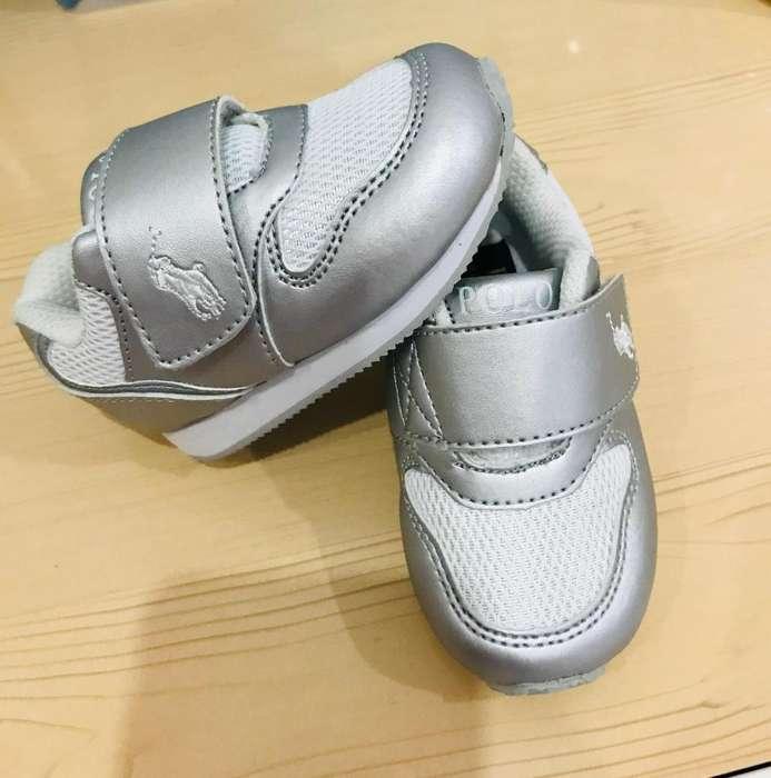 Tenis polo Ralph Lauren para beb