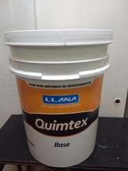 Revestimiento Plástico Quimtex Cuarzo Base 18lt