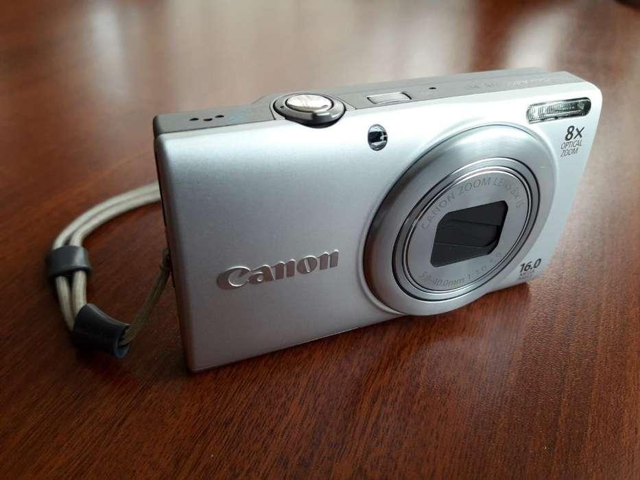 Cámara Canon Powershot 8x 16mega Pixeles