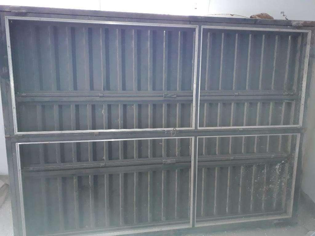 Puerta Balcon Chapa 18 Mide 2.10 X 1.50