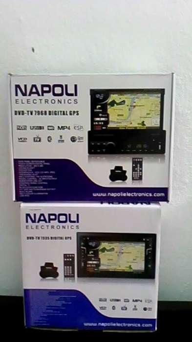 Stereo napoli 7968 <strong>gps</strong> tv dvd bluetooth nuevo envíos a todo el pais ¡entrega inmediata!