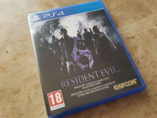 resident evil 6 playStation 4 ps4 fisico PERMUTO X GTA 5