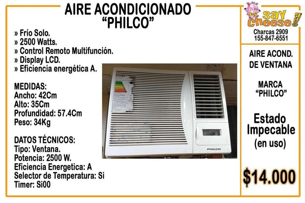 Aire acondicionado PHILCO de ventana