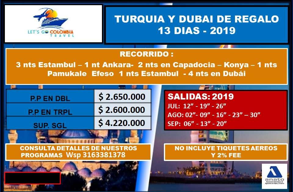 Turquía y Dubai de Regalo