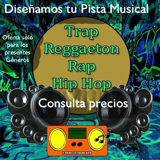 Se hacen pistas musicales para hip hop rap reggaeton trap