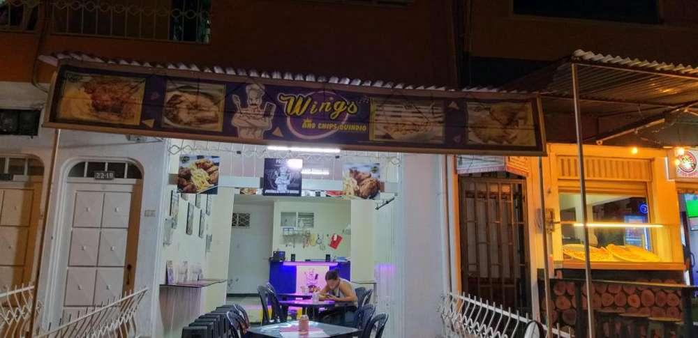 local comercial de comidas