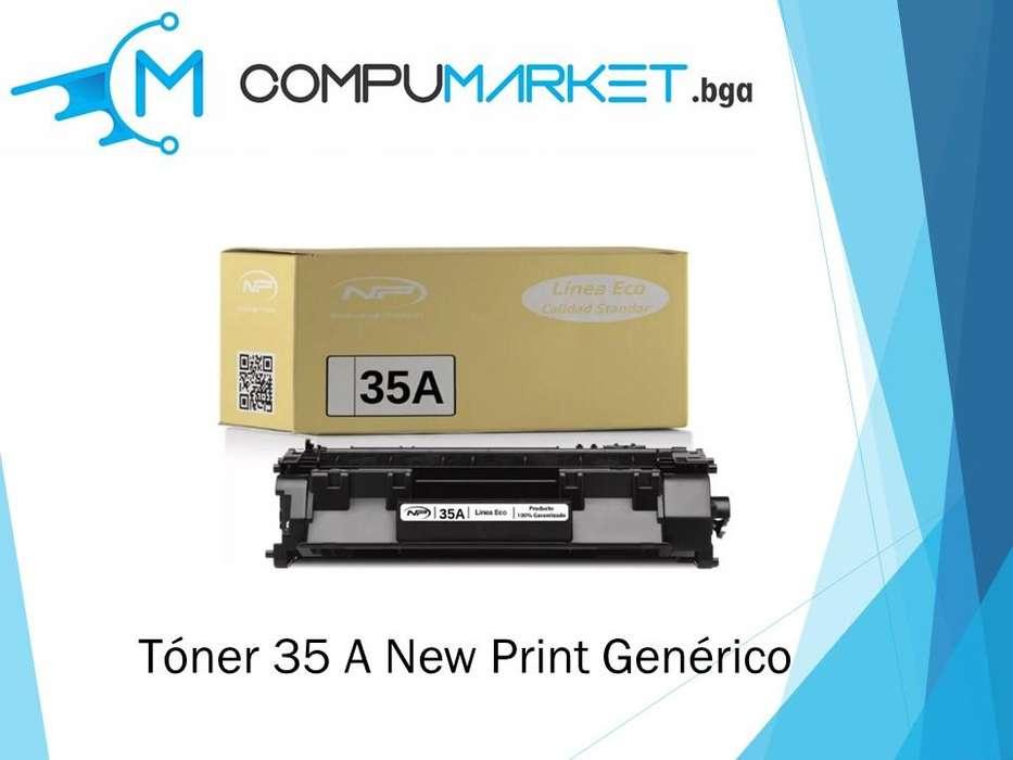 Toner 35A para HP generico New Print nuevo y facturado