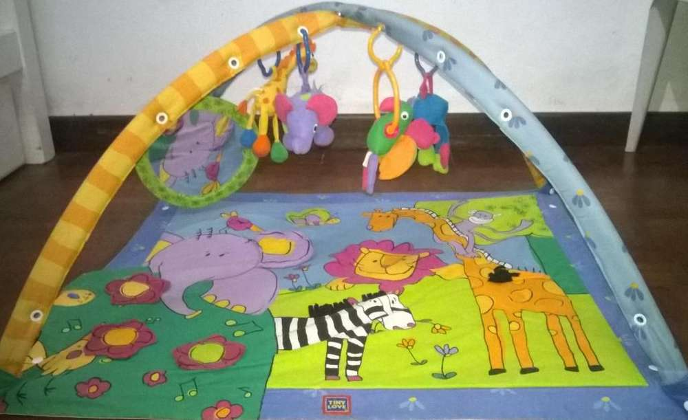 Manta didactica gimnasio para bebes