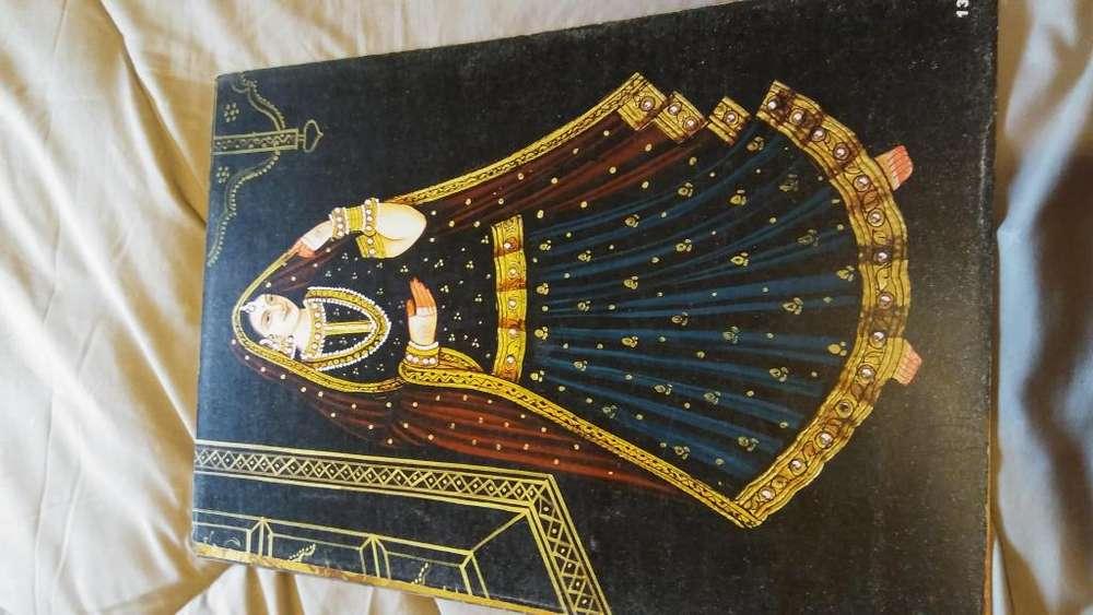 lamina de mujer tradicional hindu