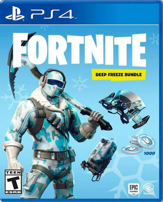 Fornite Deep Freeze Bundle Ps4