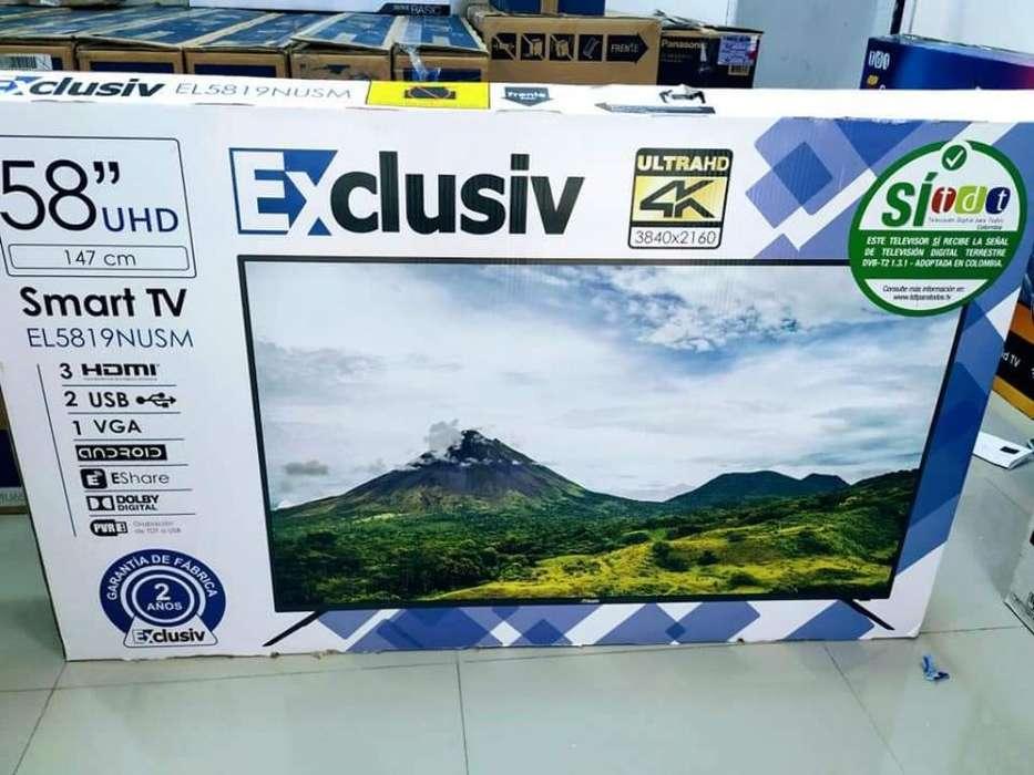 <strong>televisor</strong>es Exclusiv 58 4k, Garantía 2 a