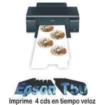 impresora epson CD DVD imprime 200 X HORA