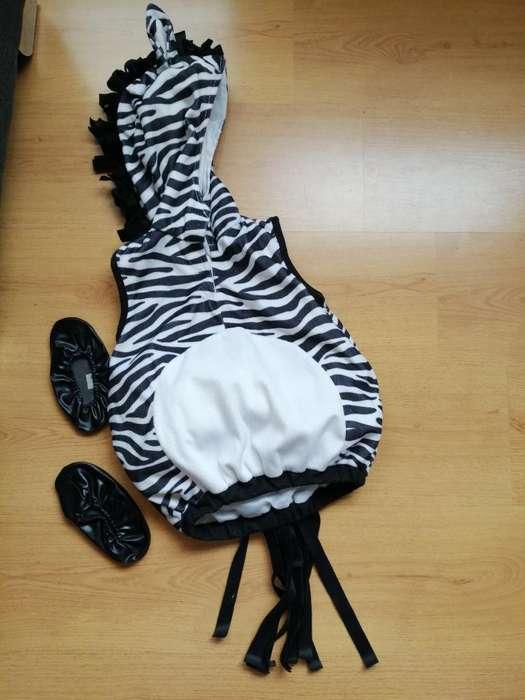 Disfraz Cebra