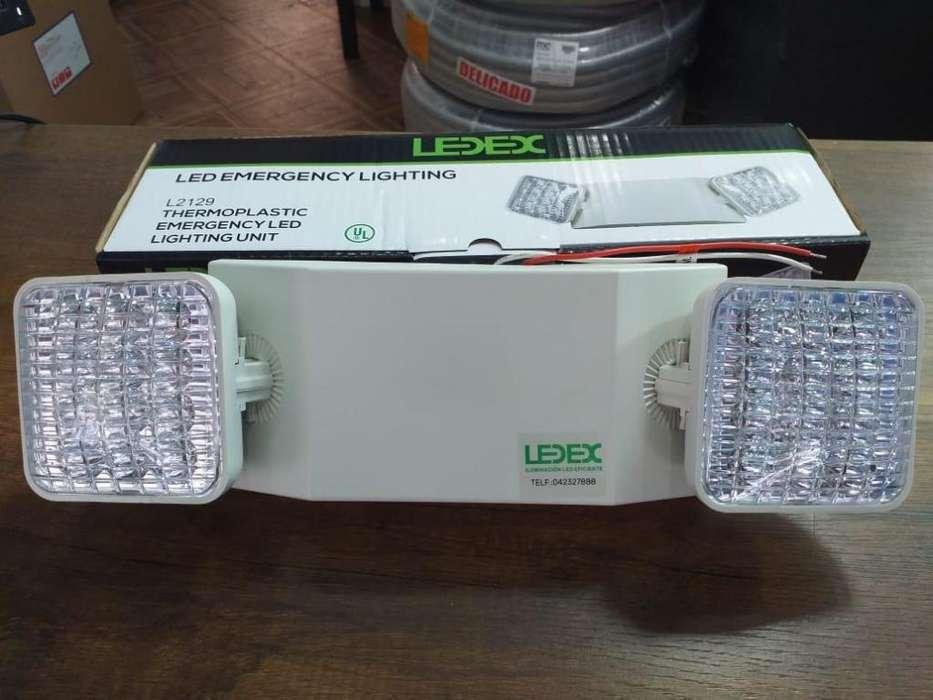 Lampara de emergencia LEDEX/ luces de emergencia/ luz con <strong>bateria</strong>/a prueba de bomberos