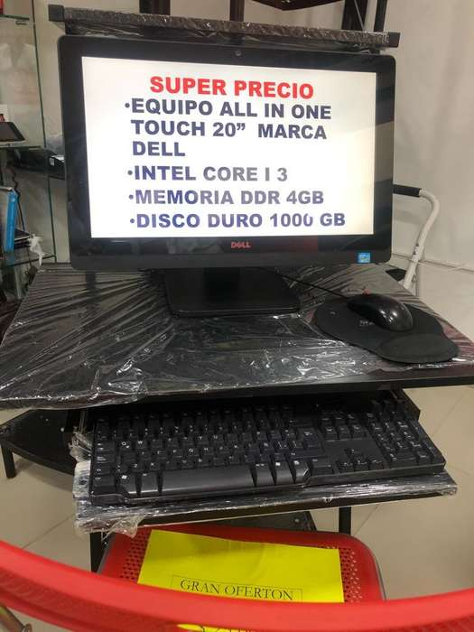 Equipo All In One Intel Core I3 Casi Nwe