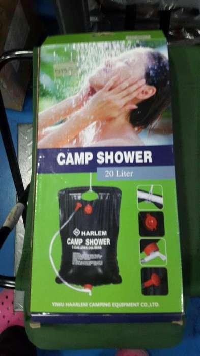 Ducha solar camp shower para camping de 20 litros NUEVA
