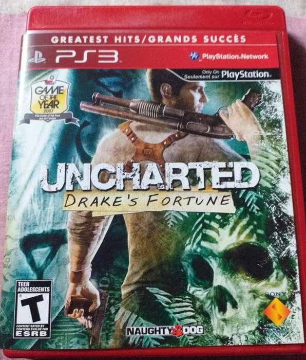 Uncharted Juegazo Clásico de Ps3