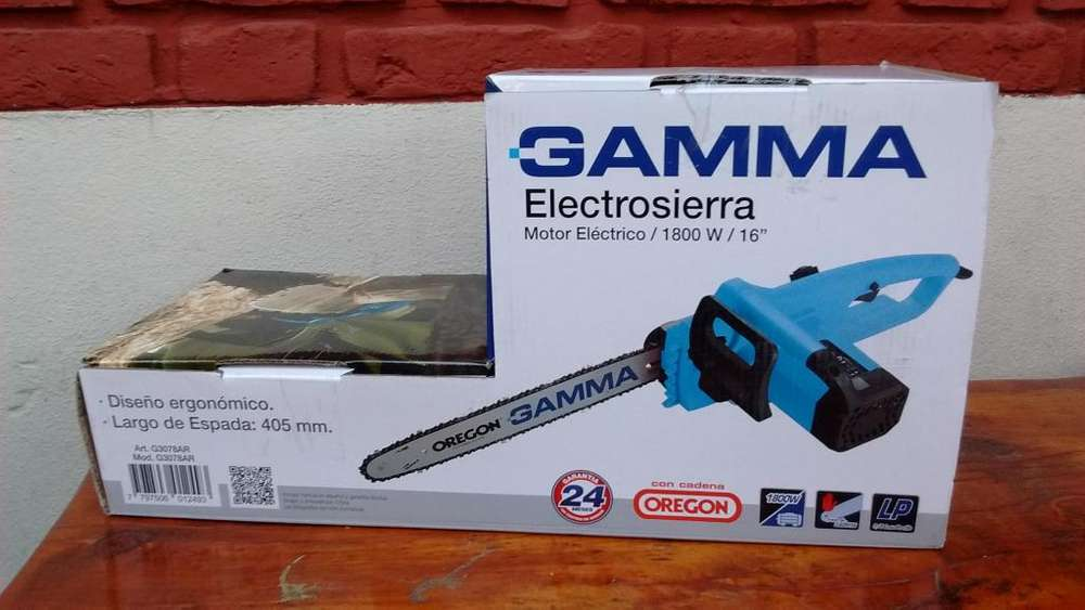 ELECTROSIERRRA NO MOTOSIERRA 1800W GAMMA ESPADA DE 405mm 16 PULGADAS