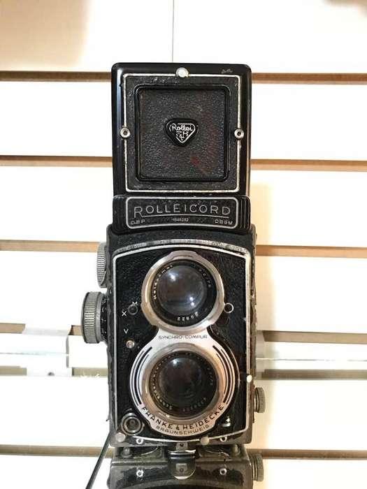 Vendo Antigua Camara Reflex Rolleicord V de 1954 Alemania Decoracion y/o Coleccion