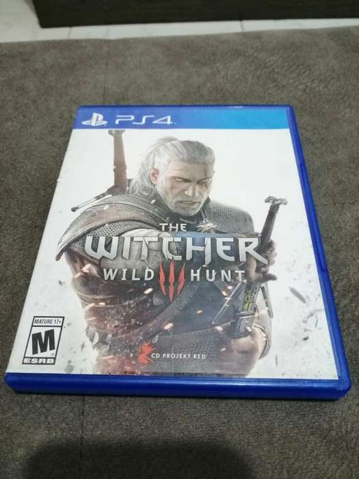 The Witcher Ps4 Físico