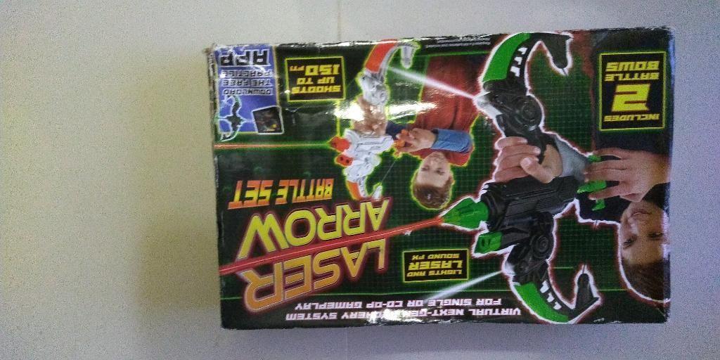 Juego de Arco Laser