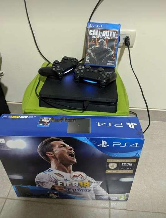 Playstation 4silm de 1 Tera