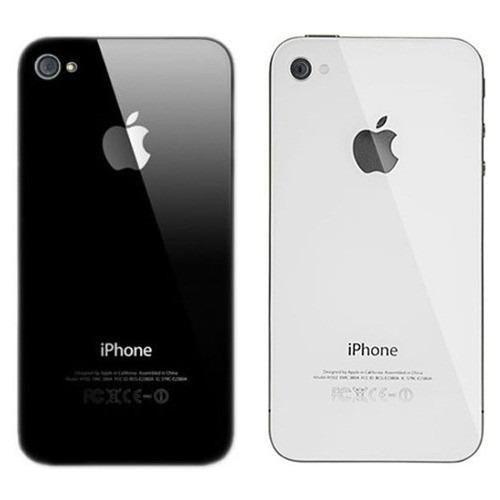 Tapa Bateria Posterior Iphone 4 4g 4s Trasera Original Instalada