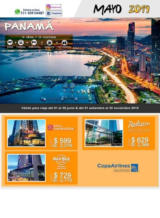 Compra en Mayo : Viaje barato a Panamá