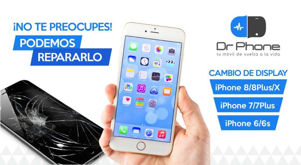 Instalación Pantalla ó Display iPhone 4s 5s 6 6s 7 Plus 8 X