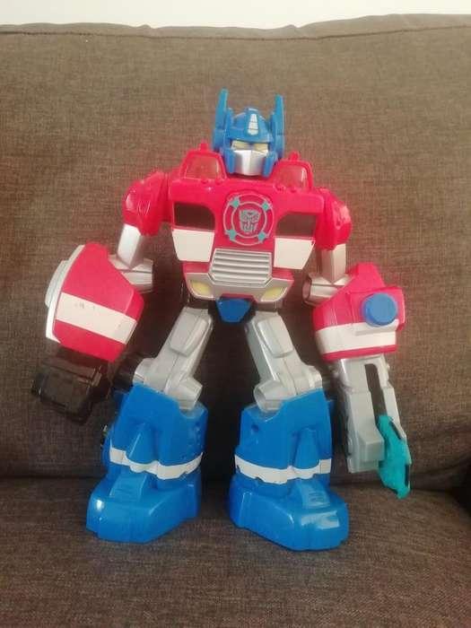 Transformers Optimus Prime Y Otros Muñec