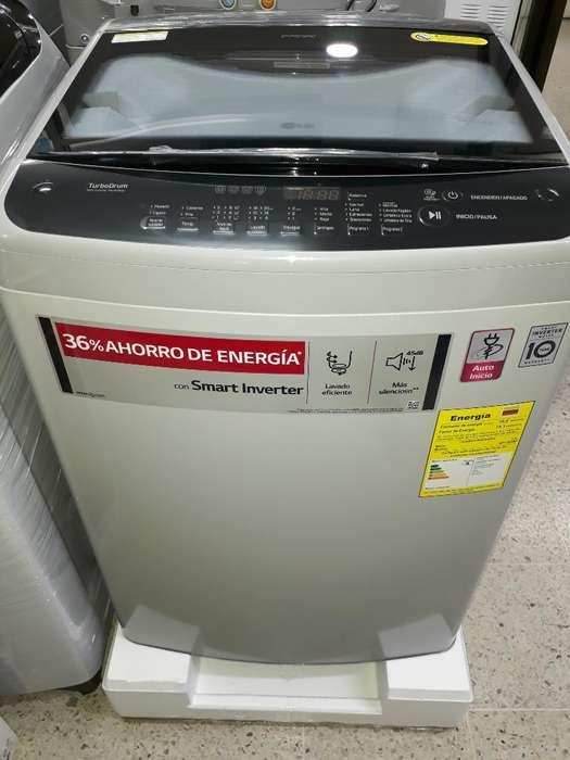 Lavadora Lg 13 Kg Inverter