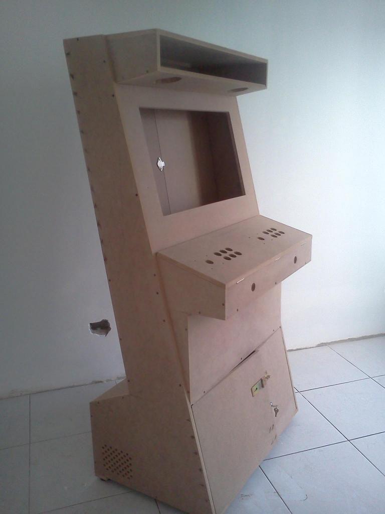 mueble o cajón para videojuegos árcade