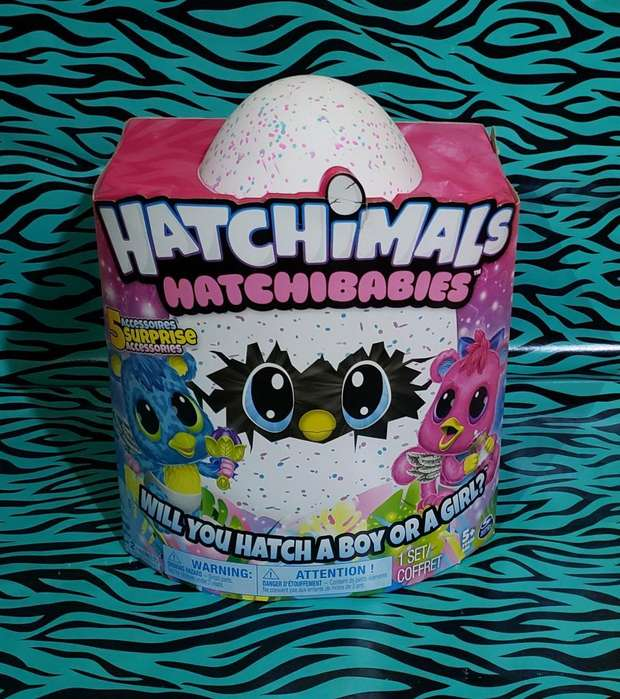 Juguete Dinamico Hatchimals