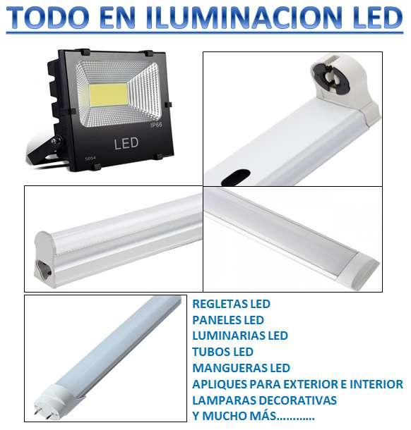 VENTA DE TODO TIPO EN ILUMINACIÓN LED
