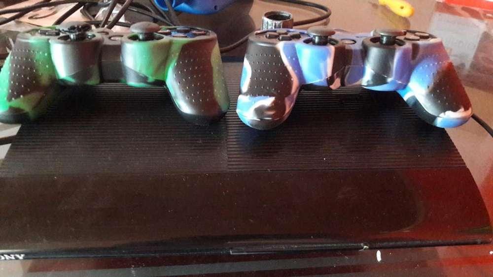 Ps3 Dos Controles 5 Juegos Perfecto Esta