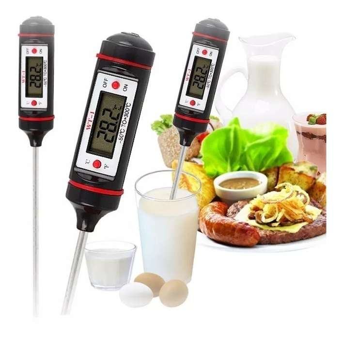 Termómetro Digital De Cocina Pincha Carne -50 A 300 Zona Alto Rosario Blaster Pc
