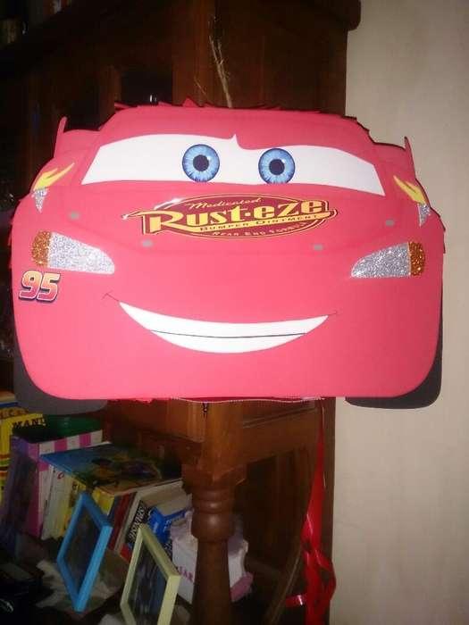 Piñata Personalizada de Cars!!!