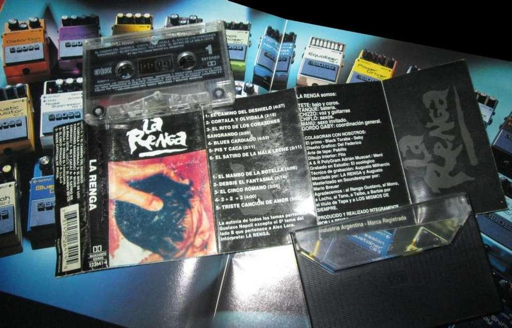 Cassette La Renga – A Donde... muy buen estado completo