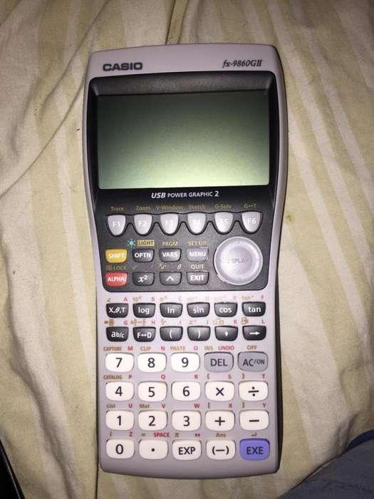 Casio fx-9860GII <strong>calculadora</strong> Cientifica - Grafica