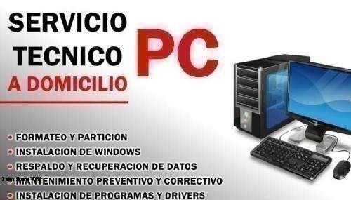 Servicio Técnico a domicilio de computador torre y portatil