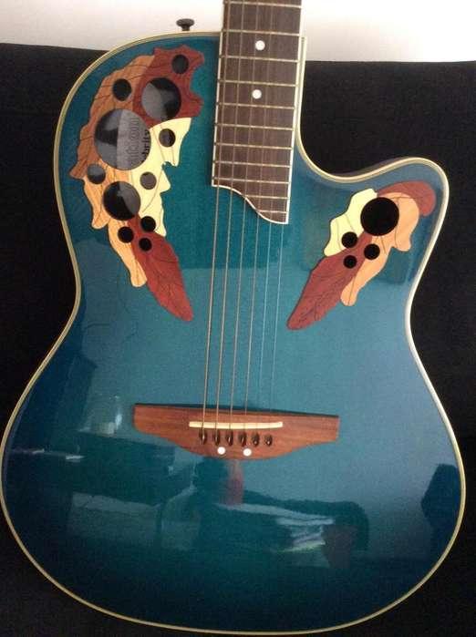 Guitarra ElectroAcùstica Ovation CS257 con estuche duro