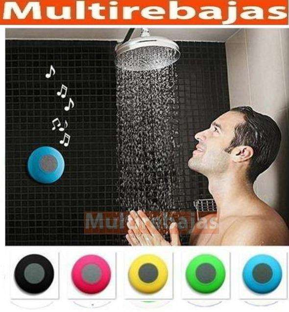 Parlante Bluetooth, Para Ducha, Contra Agua Recibe Llamadas.