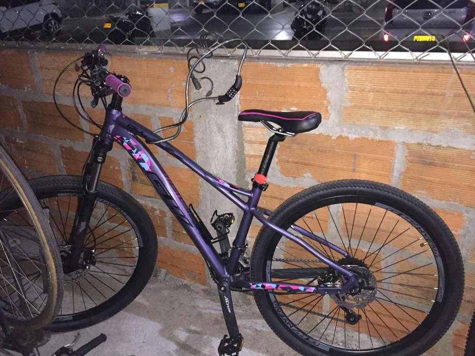 Bicicleta GW montaña