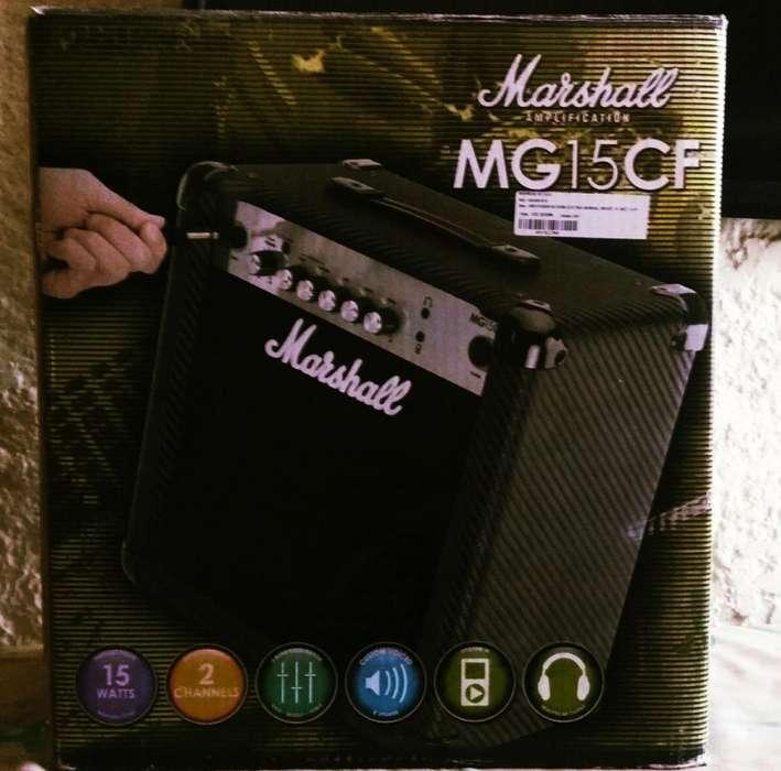 Amplificador para guitarra eléctrica Marshall de 15 Watts