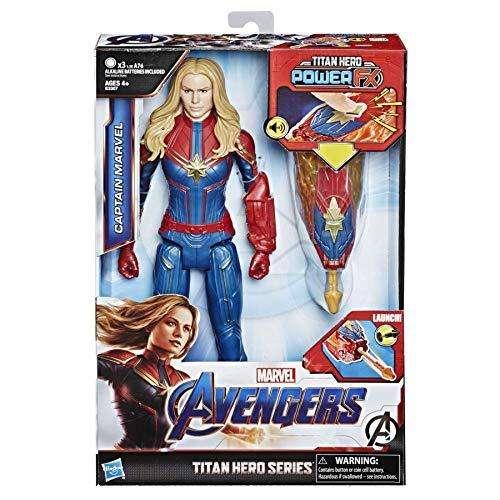 Capitana Marvel Avengers Titan Hero
