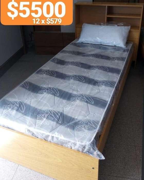 cama mas colchon