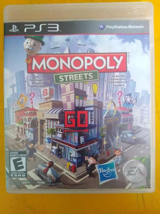 Ps3 Juego Monopoly Streets Usado
