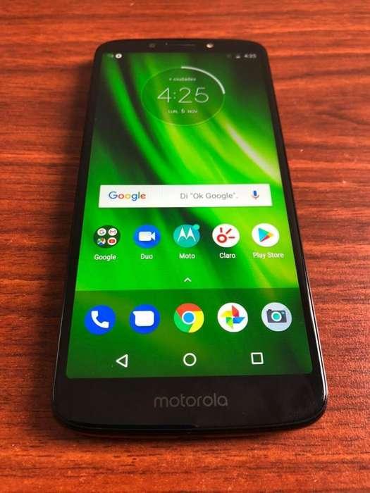 VENDO Moto G6 Play 32GB LIBRE IMPECABLE