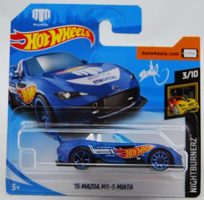 Cars Hotwheels 75 Mazda Mx 5 Miata Nightburnerz